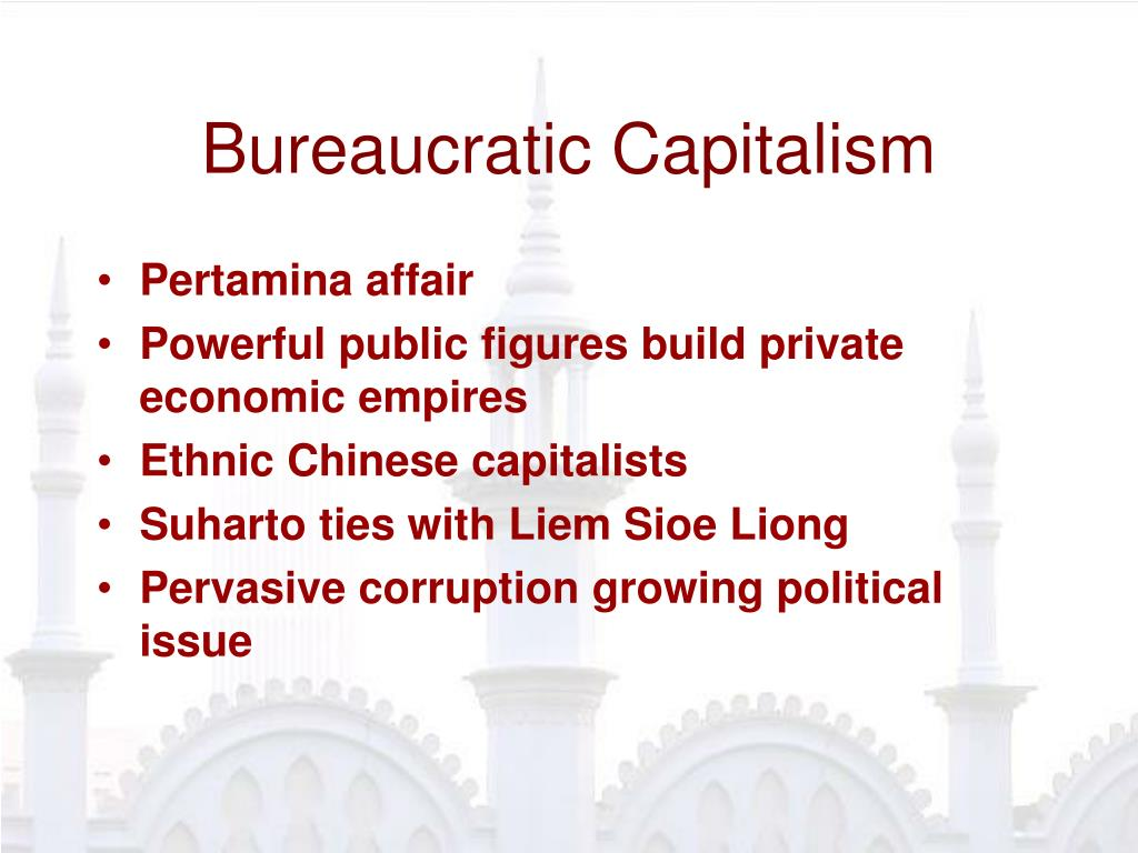 Bureaucratic Capitalism