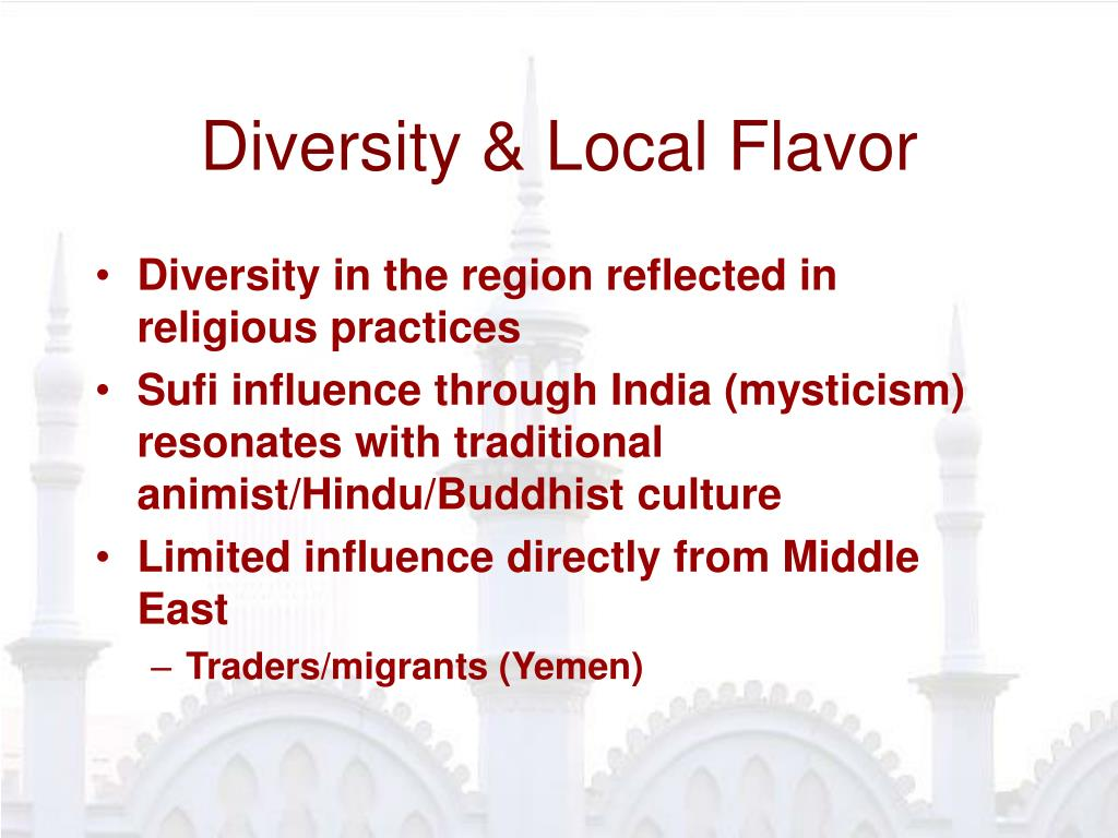 Diversity & Local Flavor