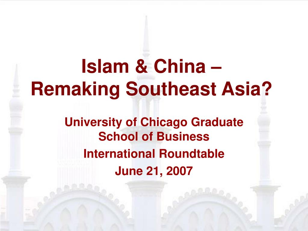 islam china remaking southeast asia