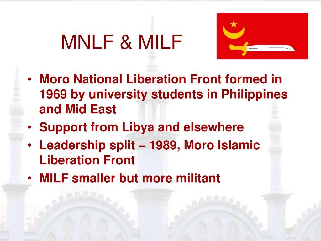 MNLF & MILF