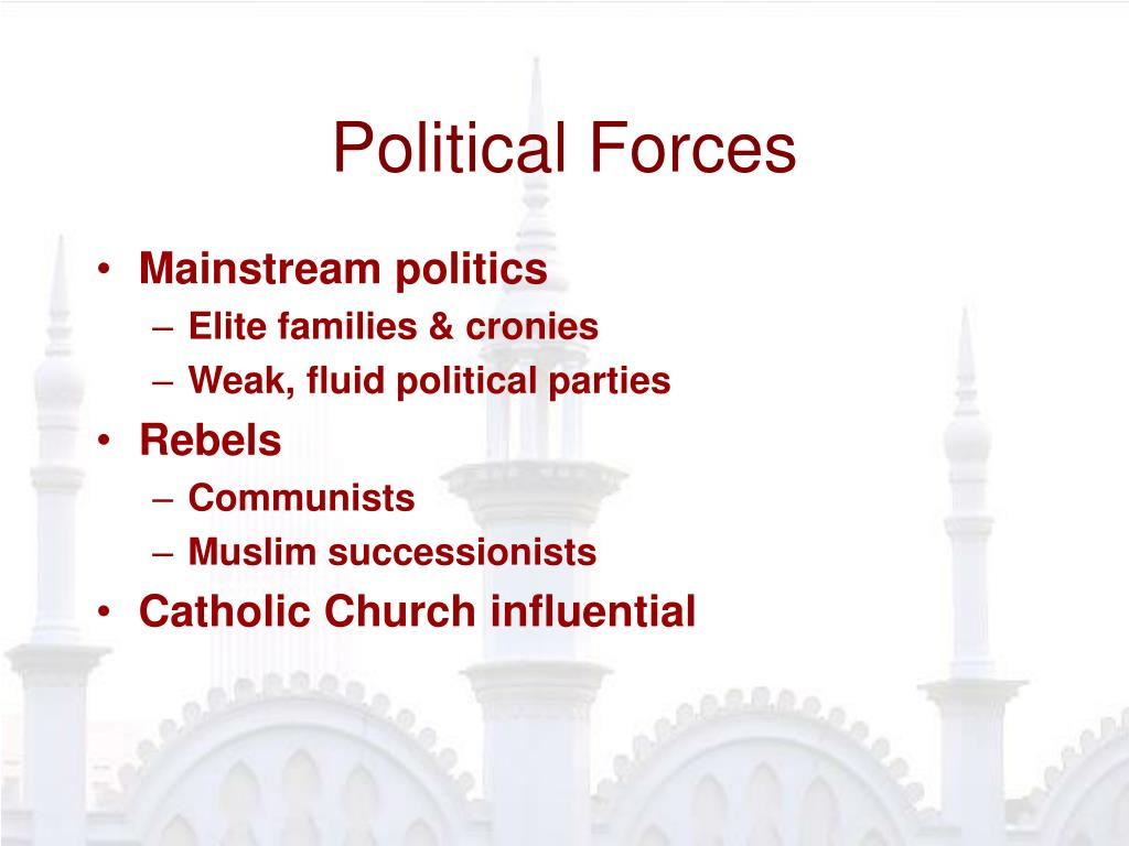 Political Forces