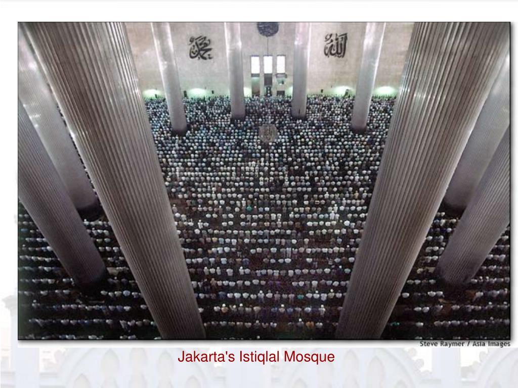 Jakarta's Istiqlal Mosque