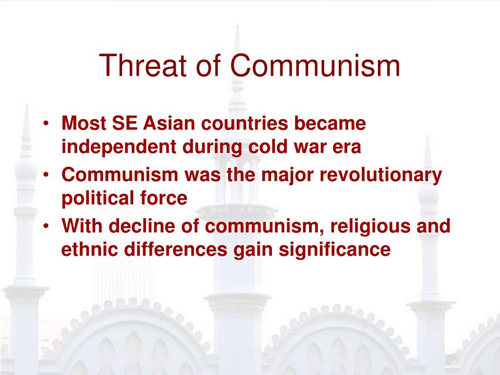 Threat of Communism