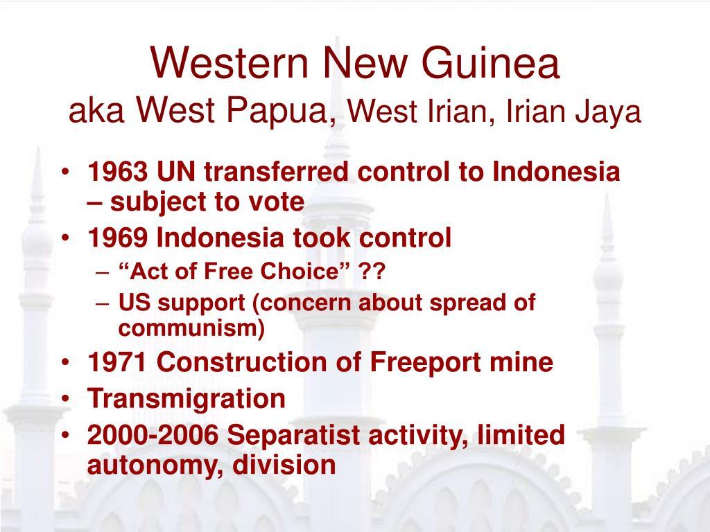 Western New Guinea