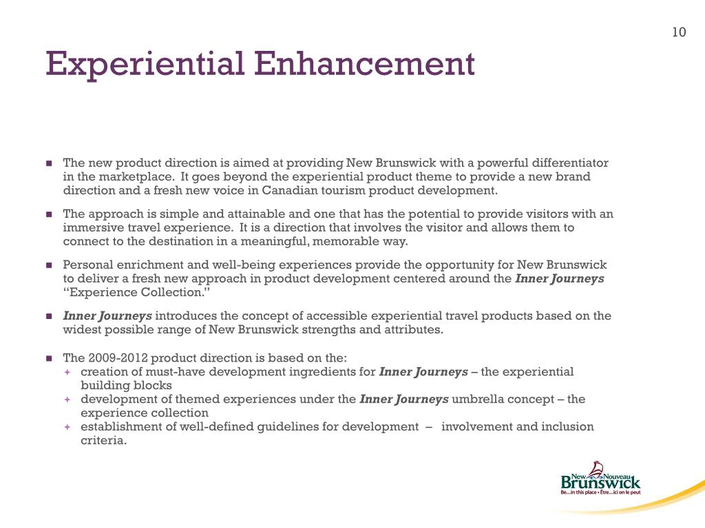 Experiential Enhancement