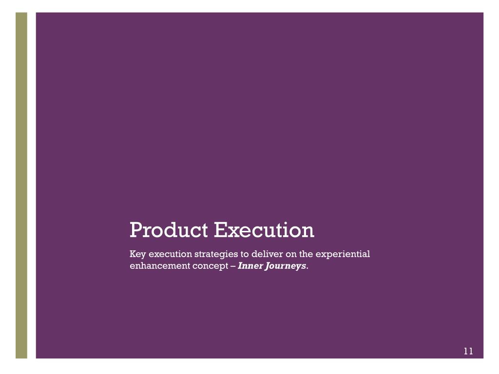 Product Execution