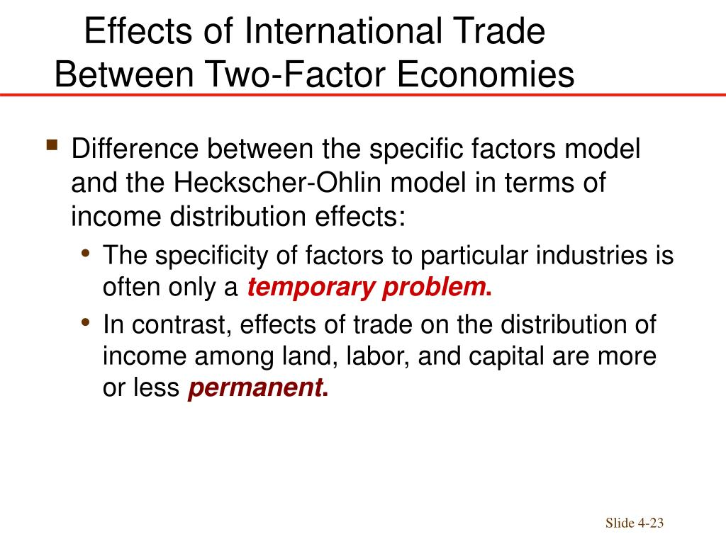 the effect of foreign trade on Evaluates the effects of international trade on china's economic growth through examining the results from the increase in foreign reserves and national welfare.
