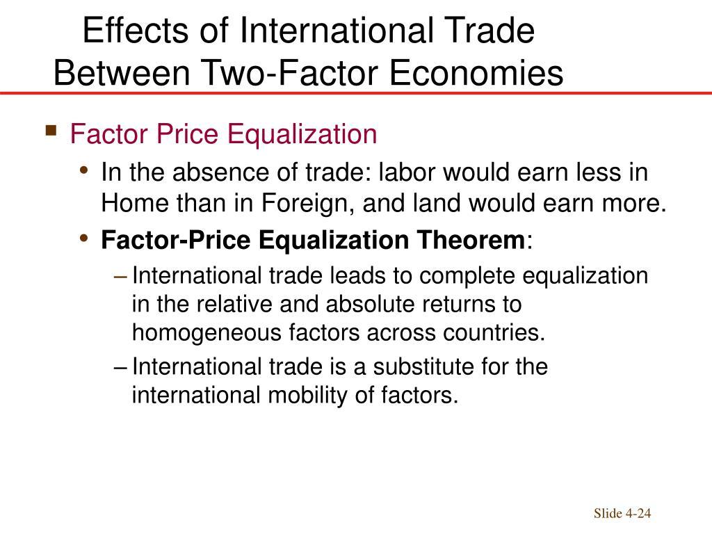 international effects of international trade essay