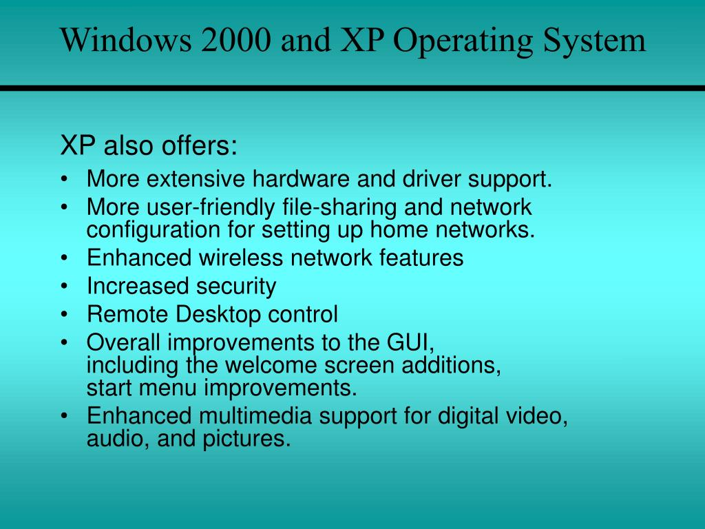 introduction to windows and unix operating Lecture notes on operating systems 5 1 introduction 2 history of operating systems an operating system but typically more similar to unix than windows.