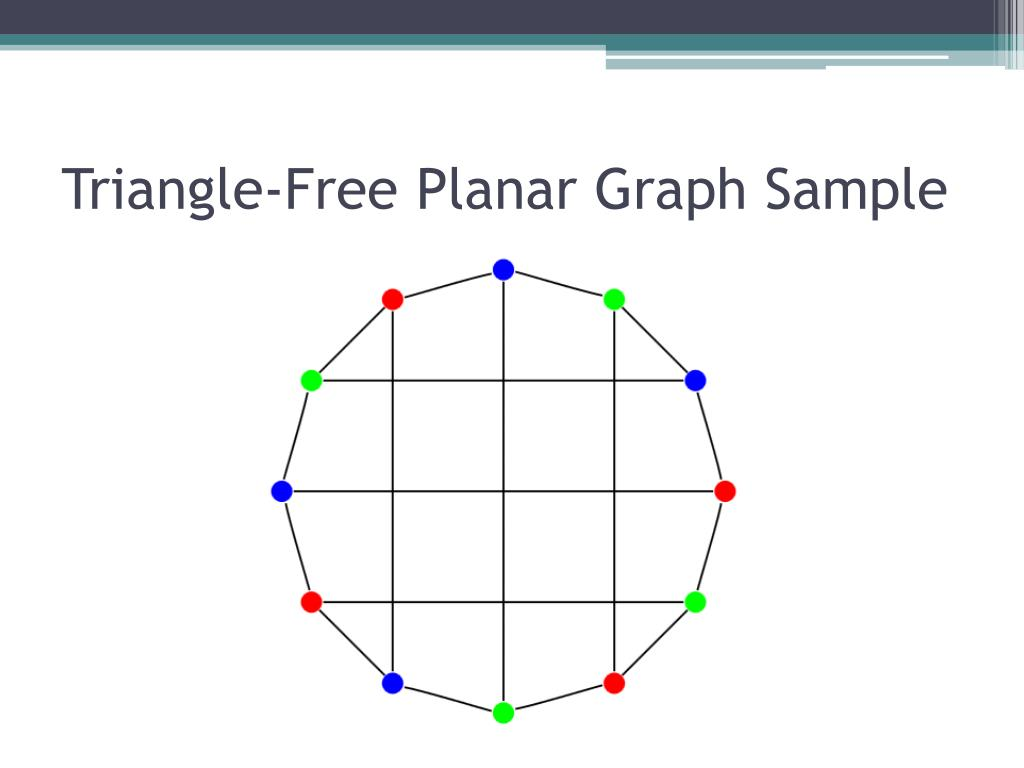 Triangle-Free Planar Graph Sample