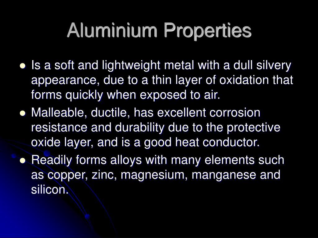 Aluminium Properties