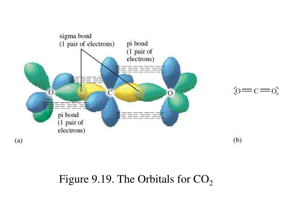 Figure 9.19. The Orbitals for CO