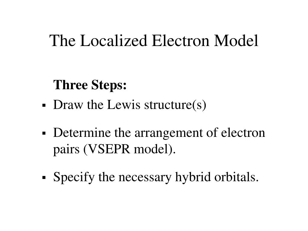 The Localized Electron Model