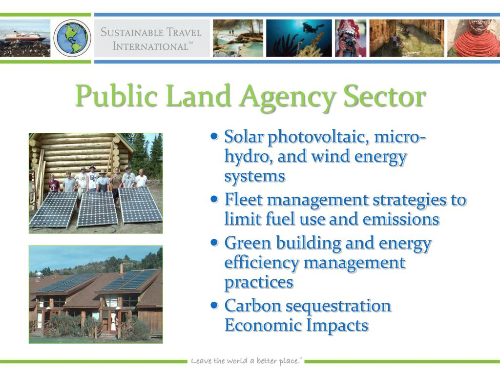 Public Land Agency Sector