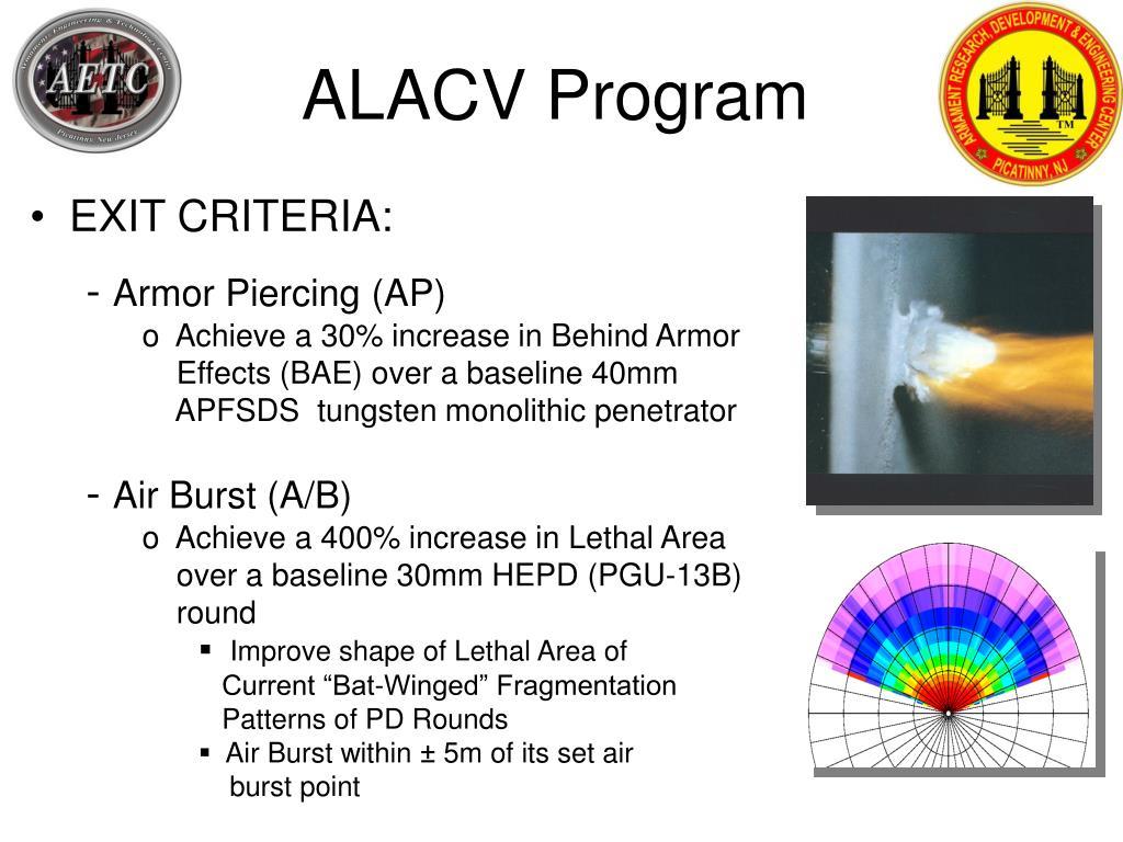 ALACV Program