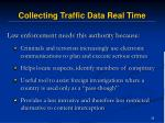 collecting traffic data real time29