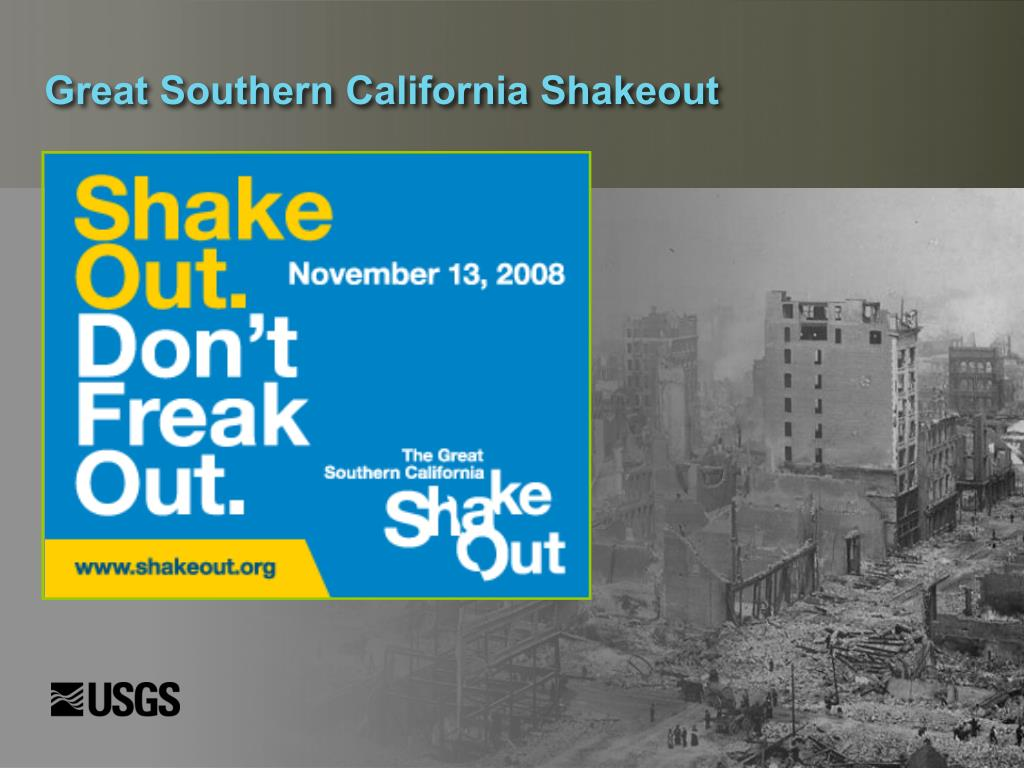 Great Southern California Shakeout