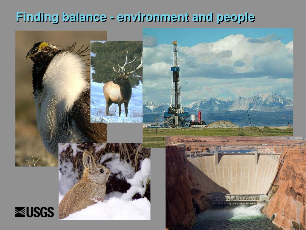 Finding balance - environment and people
