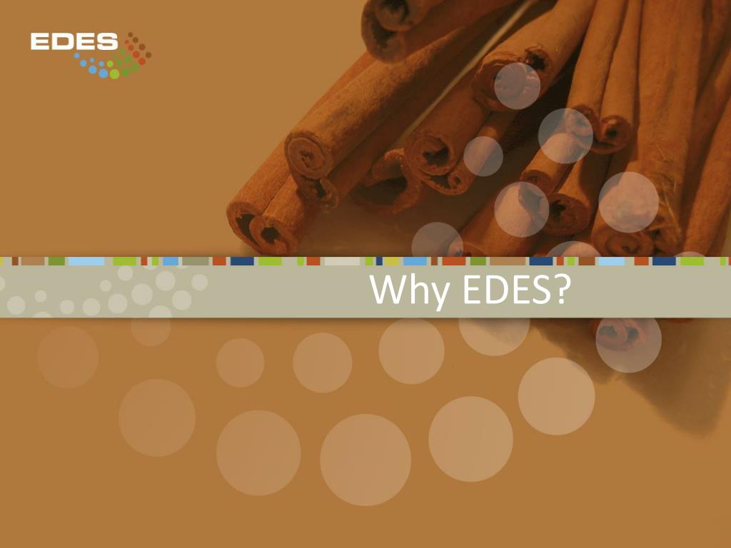 Why EDES?