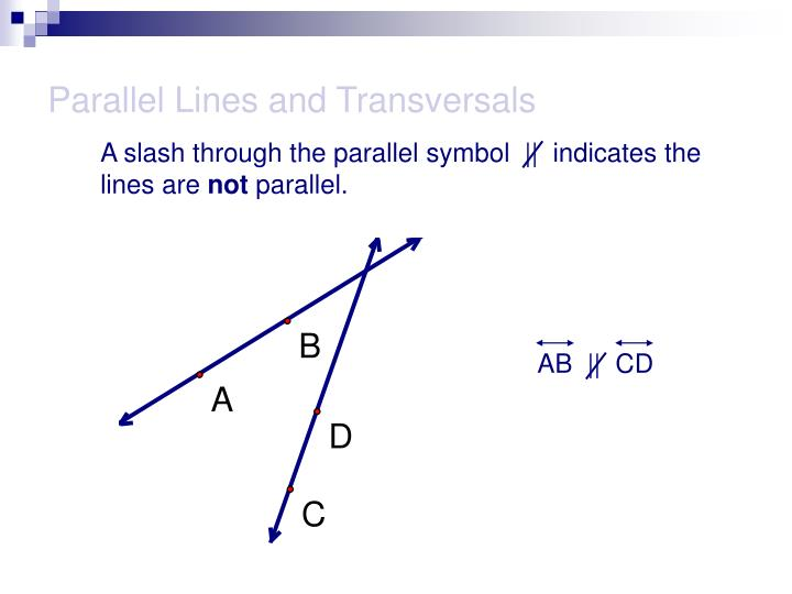 Parallel lines and transversals3 l.jpg