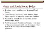 north and south korea today