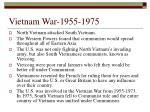 vietnam war 1955 1975
