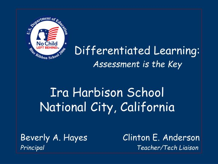 Ira harbison school national city california