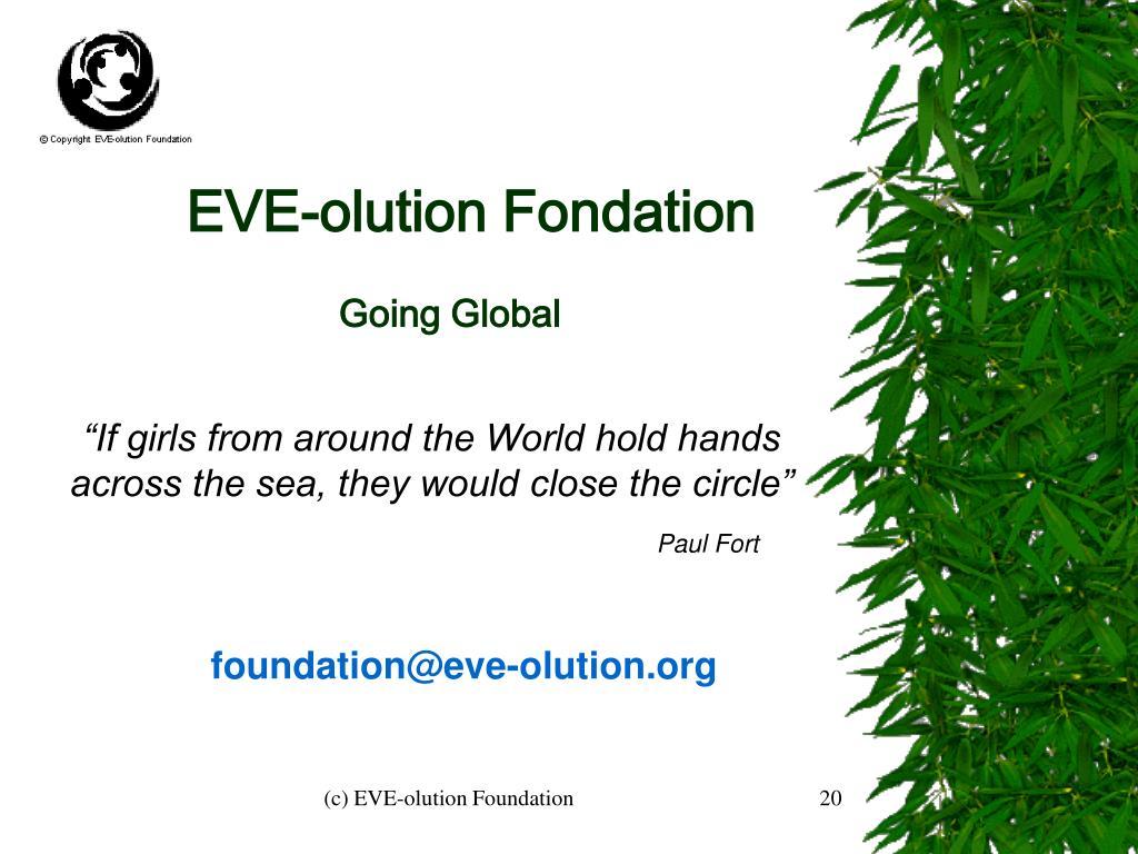EVE-olution Fondation