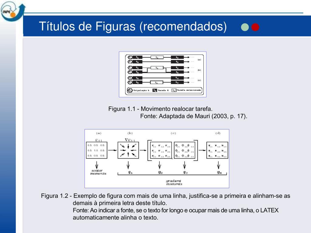 Títulos de Figuras (recomendados)