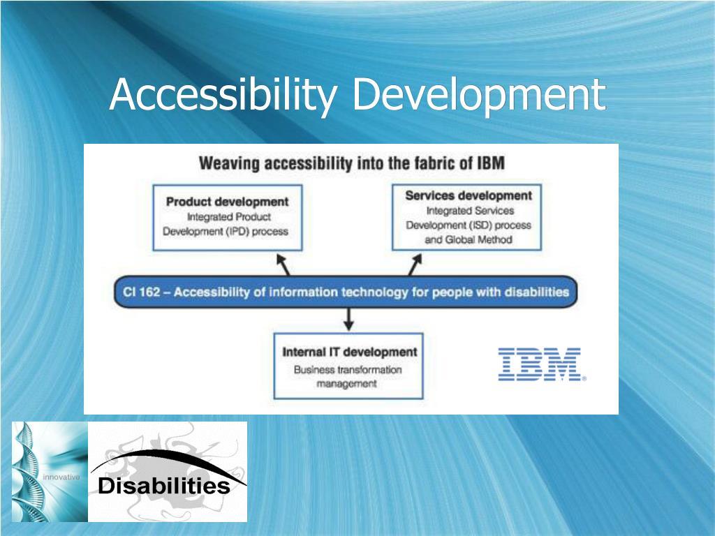 Accessibility Development