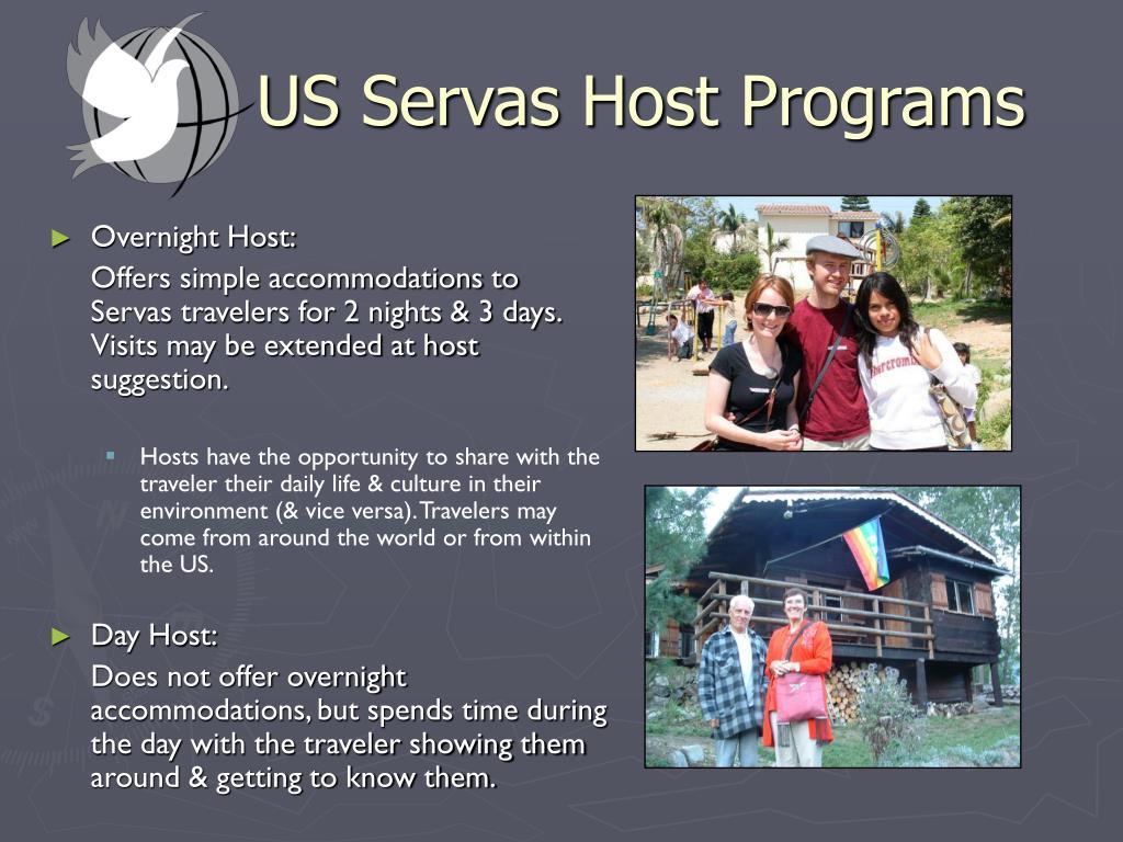 US Servas Host Programs
