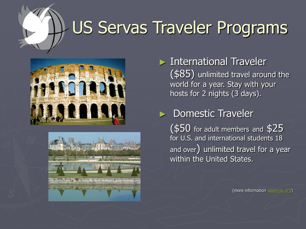 US Servas Traveler Programs