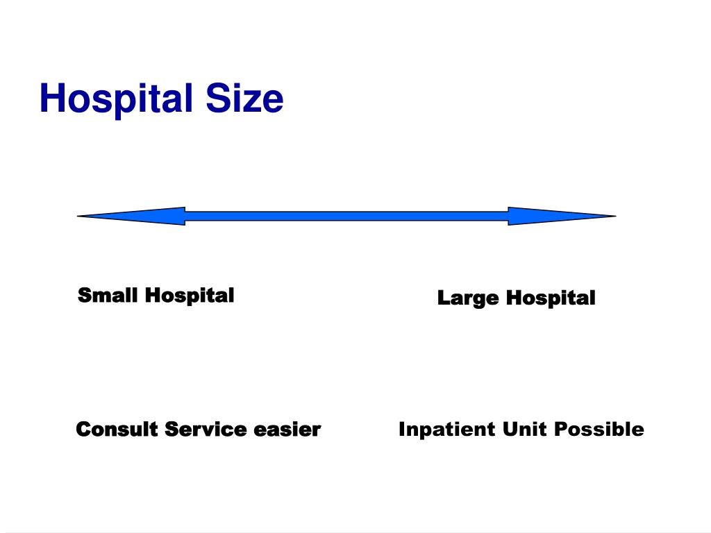 Hospital Size