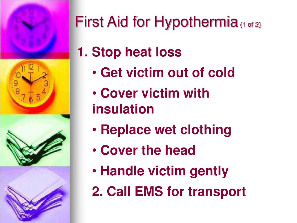 First Aid for Hypothermia