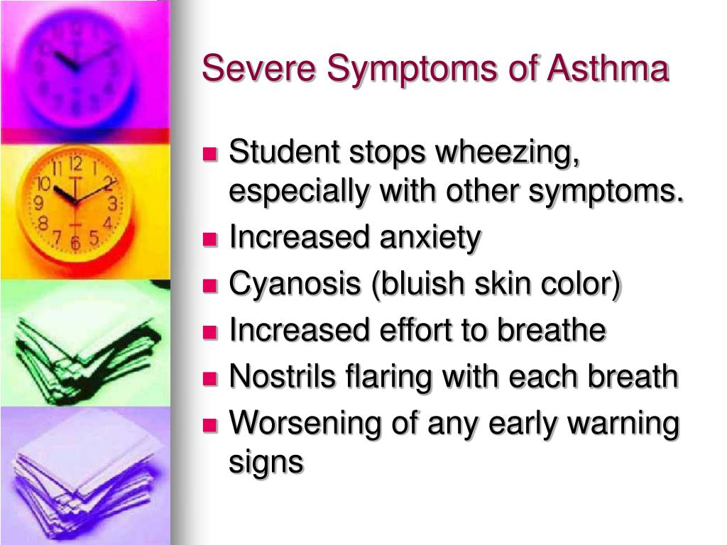 Severe Symptoms of Asthma