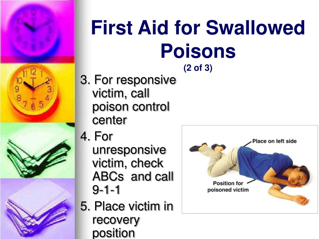 First Aid for Swallowed Poisons