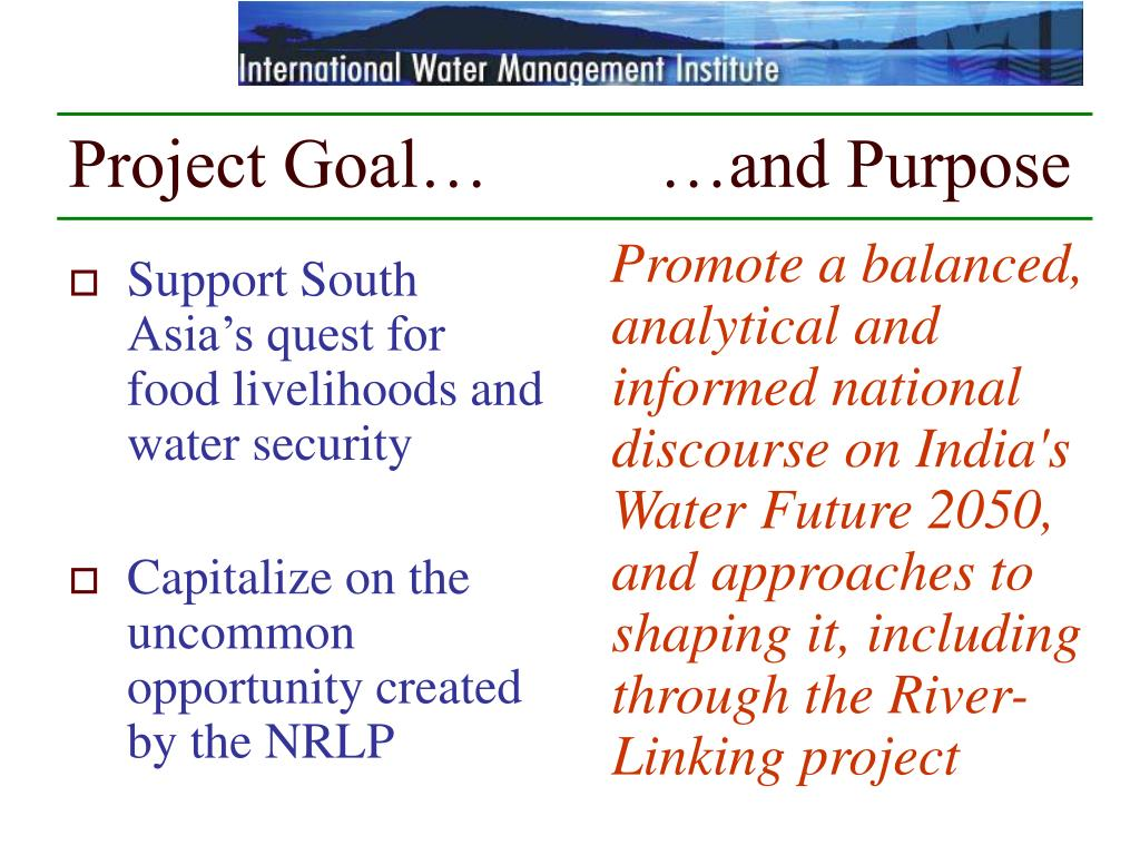 india's river linking project What is the inter-linking river project it aims to transfer water from surplus to water deficit areas in the country inter-linking river program will help saving the people living in drought-prone zones from hunger and people living in flood-prone areas from the destruction caused by floodshistory.