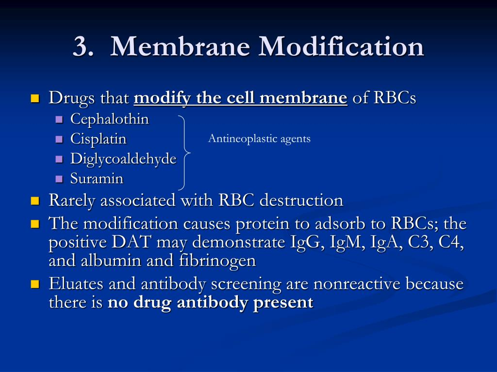 3.  Membrane Modification
