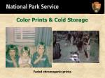 color prints cold storage