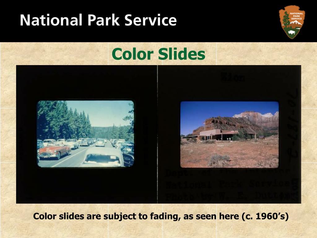 Color Slides
