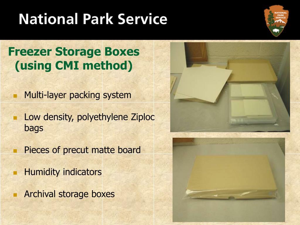 Freezer Storage Boxes