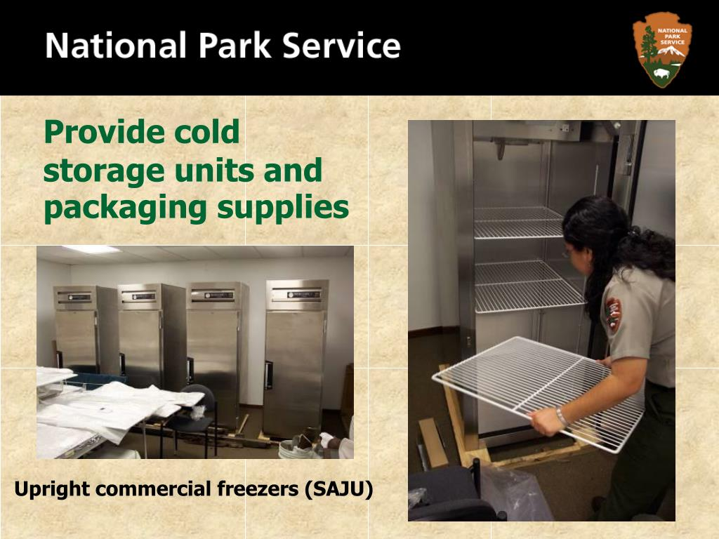 Provide cold storage units and packaging supplies