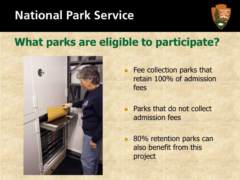 What parks are eligible to participate?