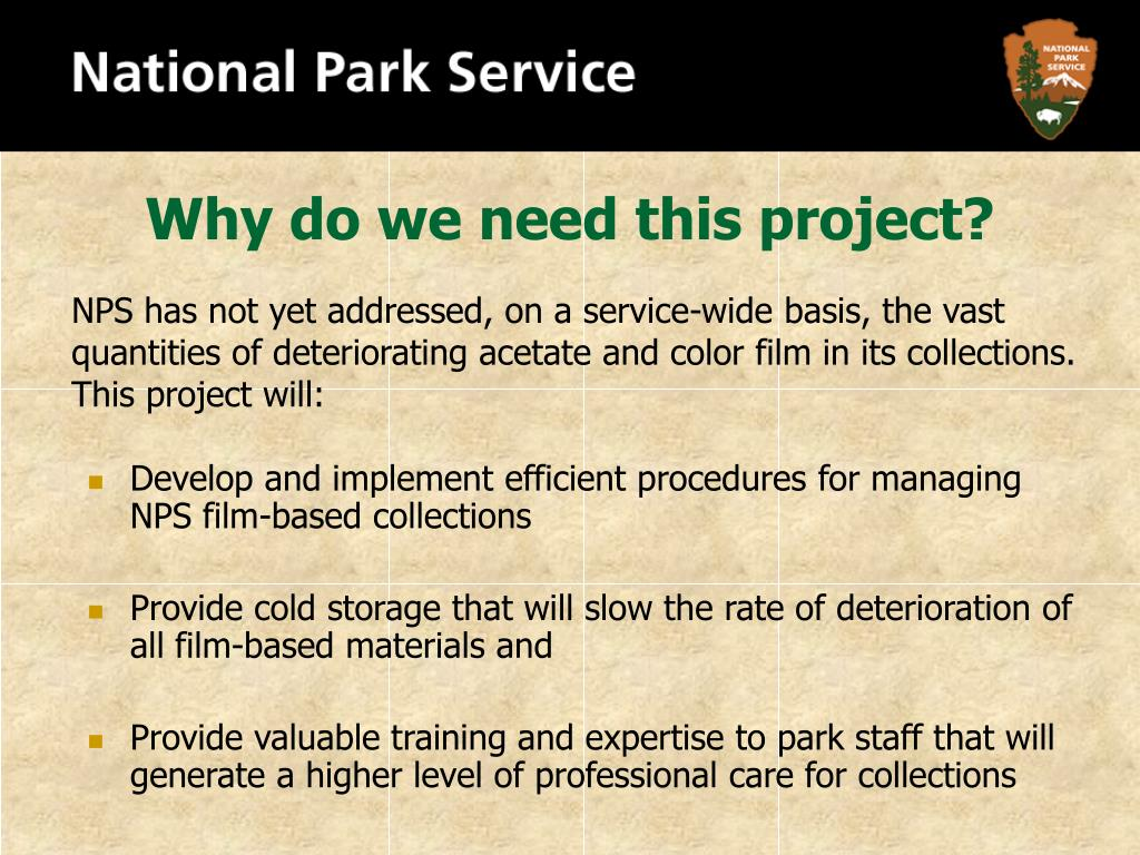Why do we need this project?
