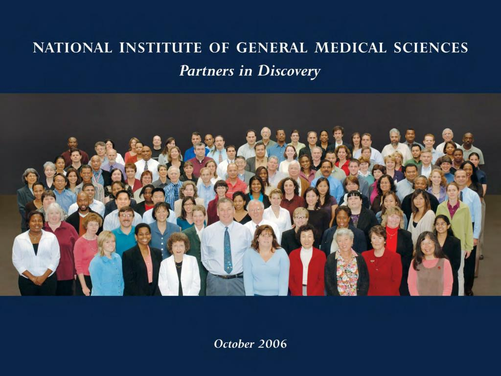 National Institute of General Medical Sciences Staff