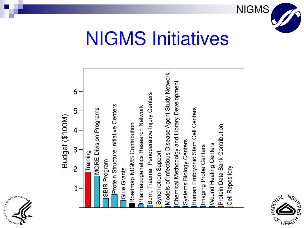 NIGMS Initiatives
