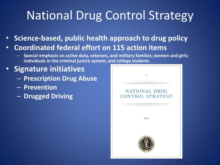 National drug control strategy l.jpg