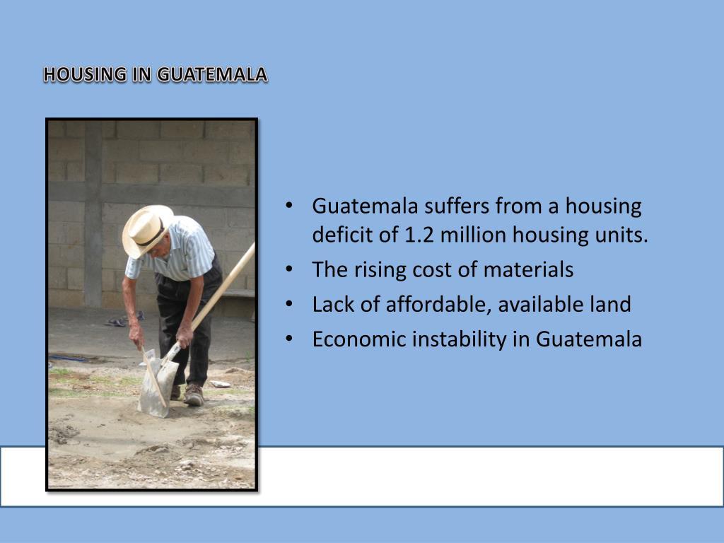 HOUSING IN GUATEMALA