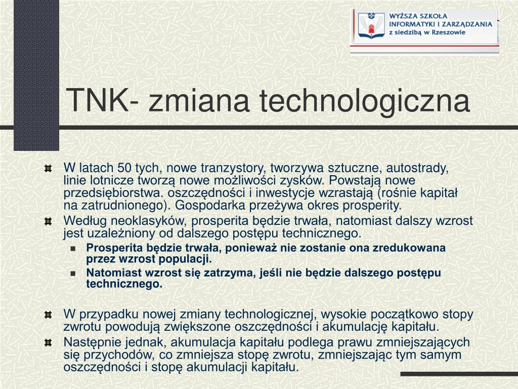 TNK- zmiana technologiczna