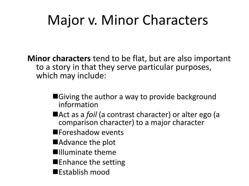 minor characters advance plot How do the interactions between major and minor characters in act 4 develop the plot of the tragedy of julius caesar.